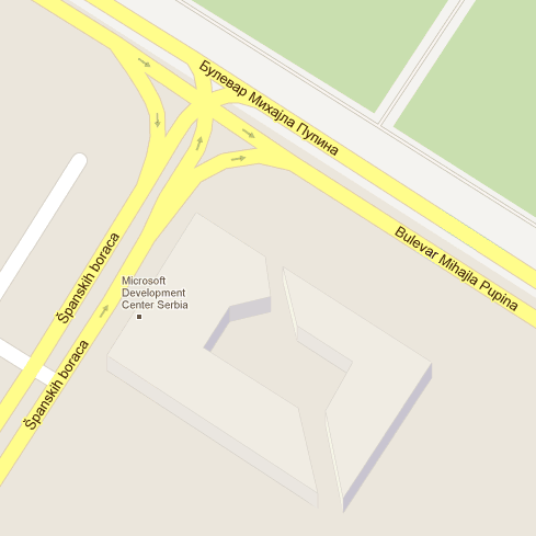 Lokacija MDCSa na mapi